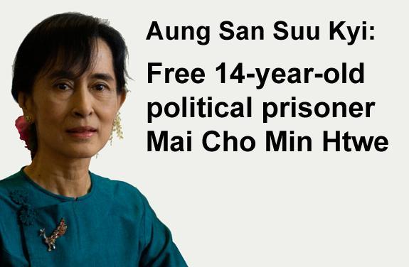 Free Mai Cho Min Htwe