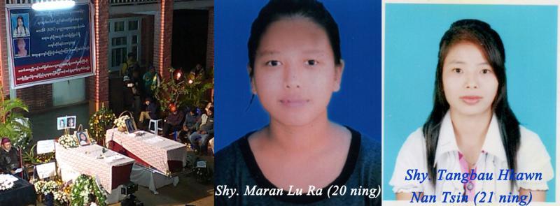 Maran Lu Ra and Tangbau Hkawn Nan Tsin
