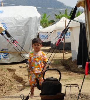 Kachin IDP camp