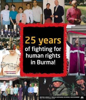 25 years fighting for human rights